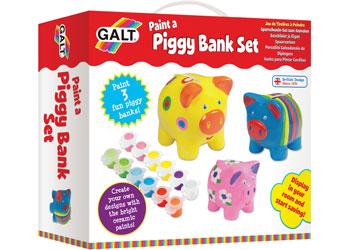 Galt - Paint a Piggy Bank Set