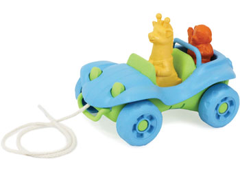 Green Toys - Dune Buggy Pull Toy - Blue