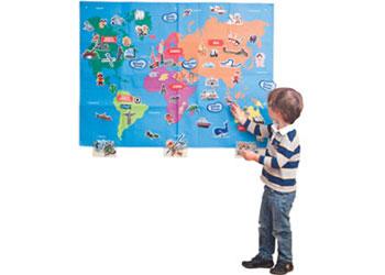 Felt Creations - World Felt Map