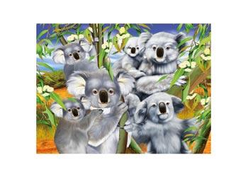 Poster Koala Cuddle