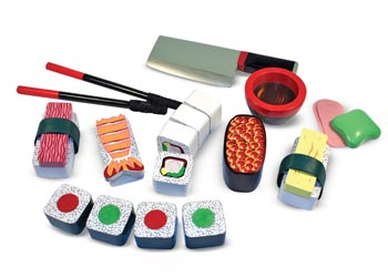 M&D – Sushi Slicing Play Set