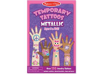M&D - Temporary Tattoos - Metallic