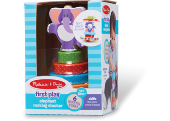M&D - First Play - Elephant Rocking Stacker