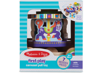 M&D - First Play - Carousel Pull Toy