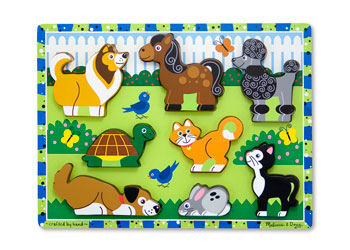 M&D – Pets Chunky Puzzle 8pce