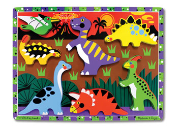 M&D – Dinosaurs Chunky Puzzle