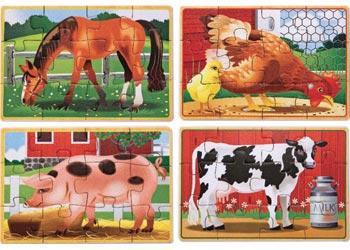 M&D - Farm Jigsaw Puzzles In A Box