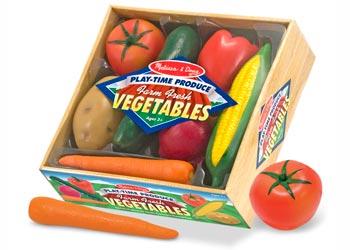 Melissa & Doug – Play Time Vegetables 7 Pieces
