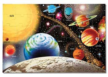 M&D – Solar System Puzzle 48 Piece