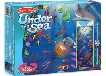 Melissa & Doug – Under the Sea Floor Puzzle 100 Pieces