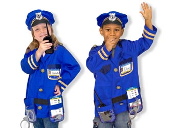 M&D – Police Officer Role Play Costume Set