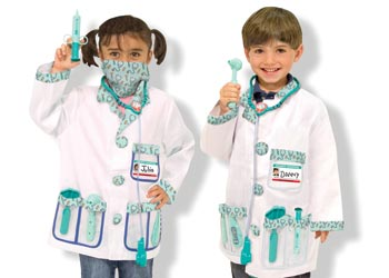 M&D – Doctor Role Play Costume Set
