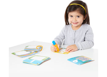 M&D – On The Go – Water WOW! Splash Cards – Shapes! Numbers! Colors!