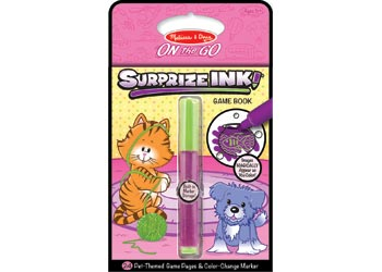 Melissa & Doug – On The Go – Surprize Ink! – Pets