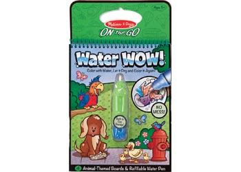 Melissa & Doug - On The Go - Water WOW! - Animals
