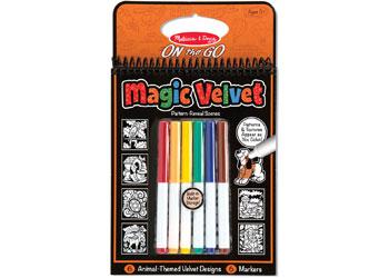 M&D - On The Go - Magic Velvet - Animal Scenes