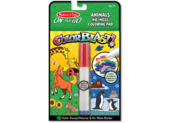 M&D - On The Go - Color Blast! - Animals