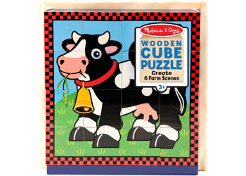M&D - Farm Cube Puzzle - 16pc
