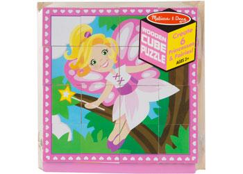 M&D - Cube Puzzle - Princess & Fairies