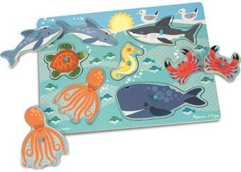 M&D – Sea Creatures Peg Puzzle