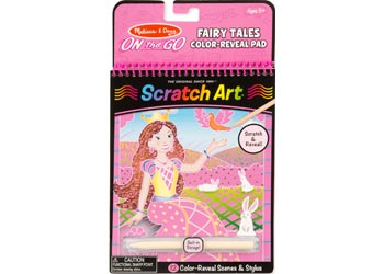M&D – On The Go -Scratch Art – Fairy Tale