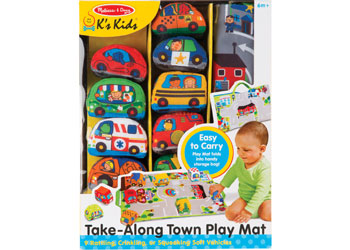 M&D - Take-Along Town Play Mat