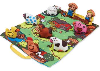 M&D - Take-Along Farm Play Mat