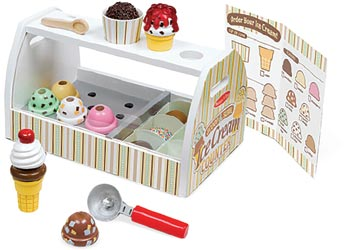 M&D – Scoop & Serve Ice Cream Counter