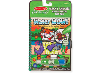 M&D - On The Go - Water WOW! Wacky Animals Flip
