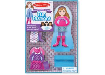 M&D - Fun Fashions Magnetic Dress-Up