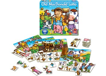 Orchard Game - Old MacDonald Lotto