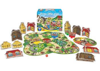 Orchard Game - Three Little Pigs Game
