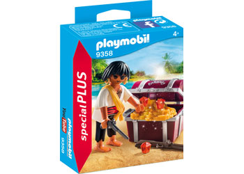 Playmobil - Pirate with Treasure Chest