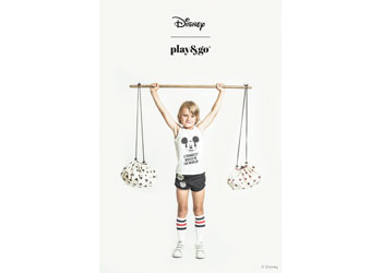 Play&Go - Mini Mickey Black - 40cm