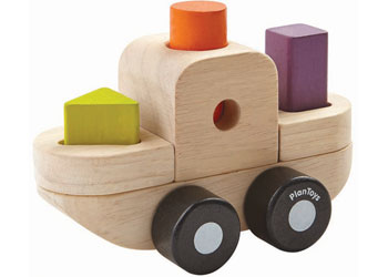 PlanToys - Sorting Puzzle Boat