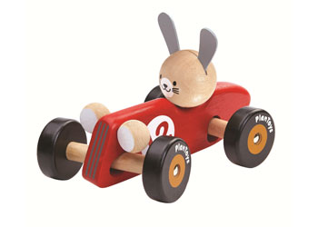 PlanToys - Rabbit Racing Car
