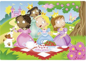 Ravensburger - Princess Friends Puzzle 12pc Plastic