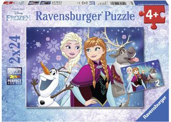 Ravensburger - Disney Northern Lights Puzzle 2x24pc