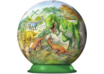 Ravensburger - Kingdom of the Dinosaurs Puzzleball 72pc