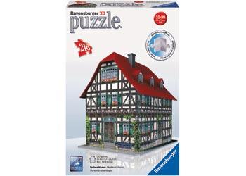 Medieval House 3D Puzzle 216pc