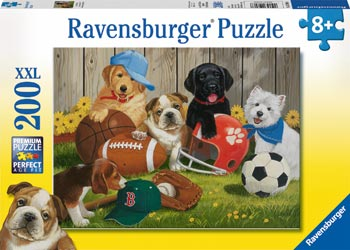 Ravensburger - Let's Play Ball Puzzle 200pc