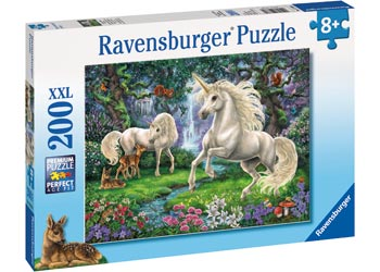 Ravensburger - Mystical Unicorns Puzzle 200pc