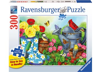 Ravensburger - Garden Traditions Puzzle 300pcLF