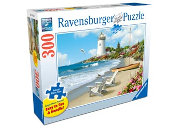 Ravensburger - Sunlit Shores Puzzle 300 pieces Large Format