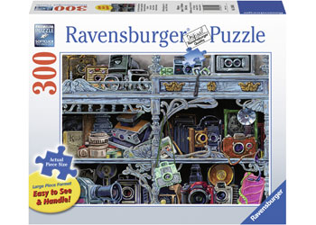 Ravensburger - Camera Evolution Puzzle 300 pieces Lge Format