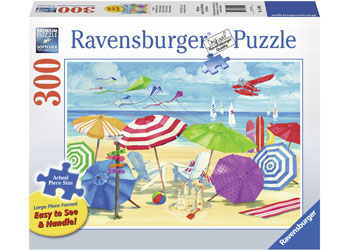 Ravensburger - At the Beach Puzzle Lge Format 300pc