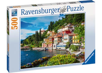 Ravensburger - Lake Como Italy Puzzle 500 pieces