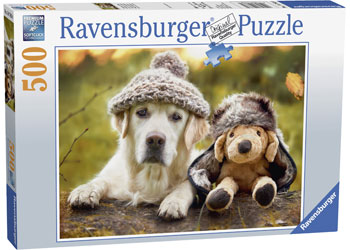 Ravensburger - Winter Labrador Puzzle 500 pieces