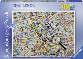 Ravensburger - Illusion Puzzle 500pc