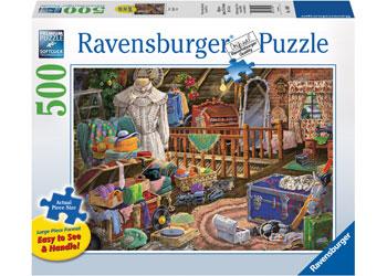 Ravensburger - The Attic Lge Form Puz 500pc